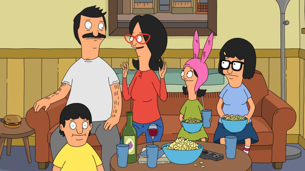 Bob's Burgers family.