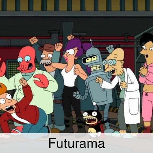 Futurama crew.