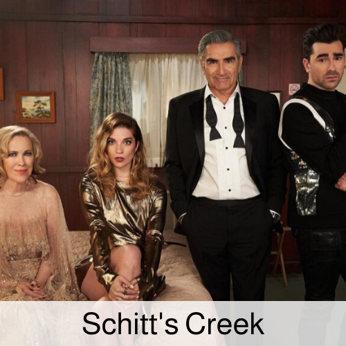 Schitt's Creek family.