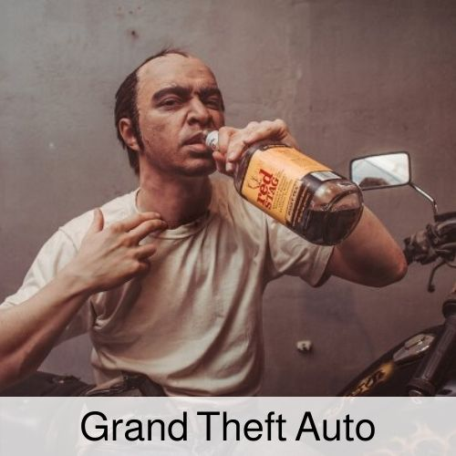 Grand Theft Auto Drinking Game