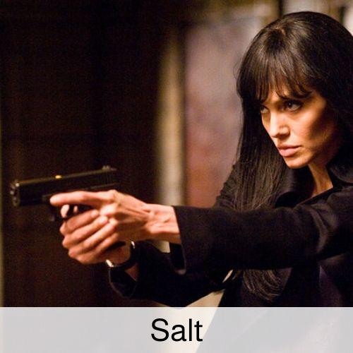 Salt drinking game.