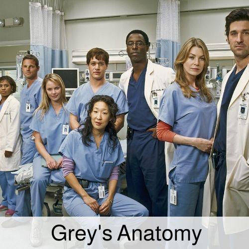 Grey's Anatomy drinking game.