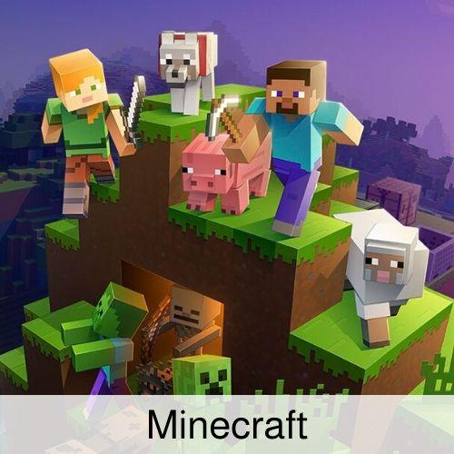 Minecraft drinking game.