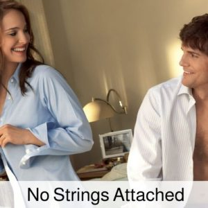 No strings attached movie poster.