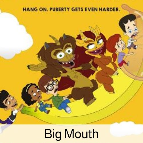 Big Mouth drinking game.