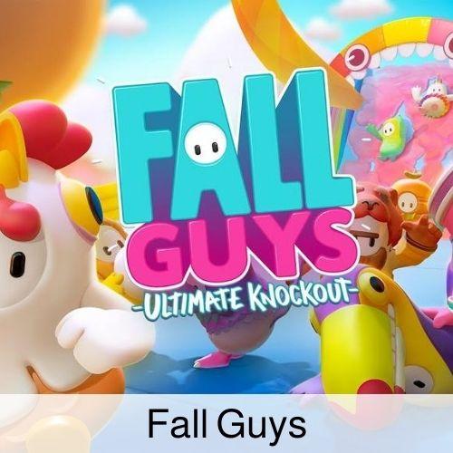 Fall Guys drinking game thumbnail.
