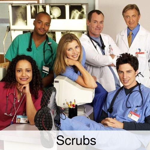 Scrubs drinking game thumbnail.