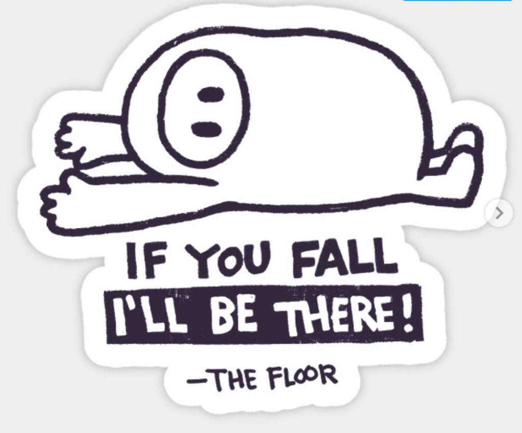Fall Guys sticker from Teepublic.