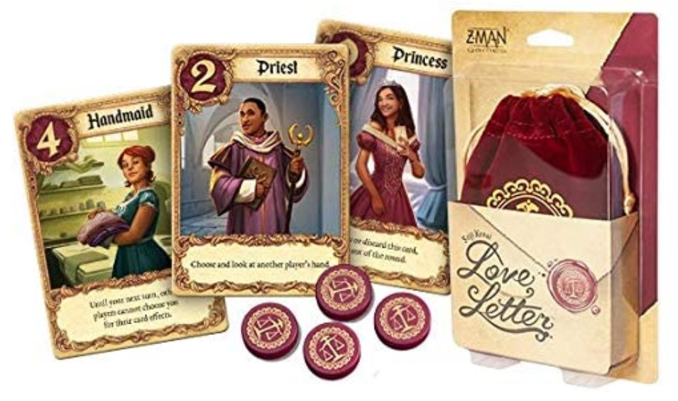 Love Letter Card Game on Amazon.