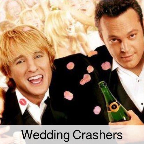 Wedding Crashers drinking game.
