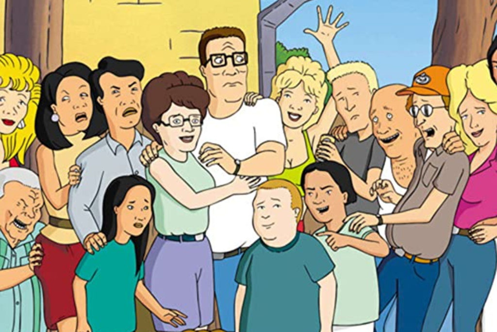 Header image for king of the hill drinking game.