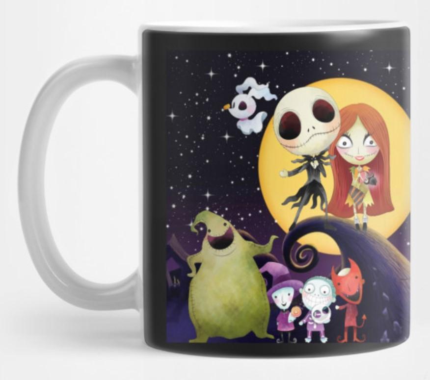 Nightmare before Christmas mug.