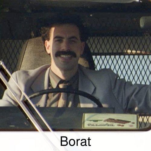 Borat Drinking Game