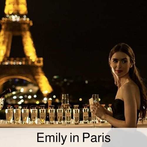 Emily in paris drinking game.
