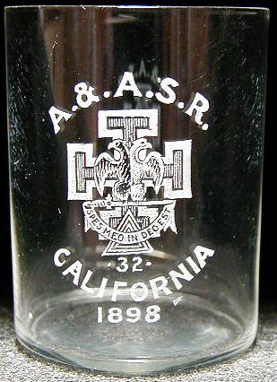 Pre-prohibition shot glass.