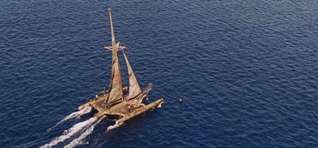 Waterworld boat