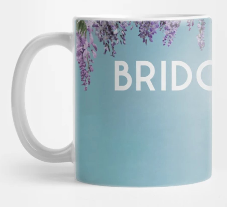 bridgerton coffee mug.