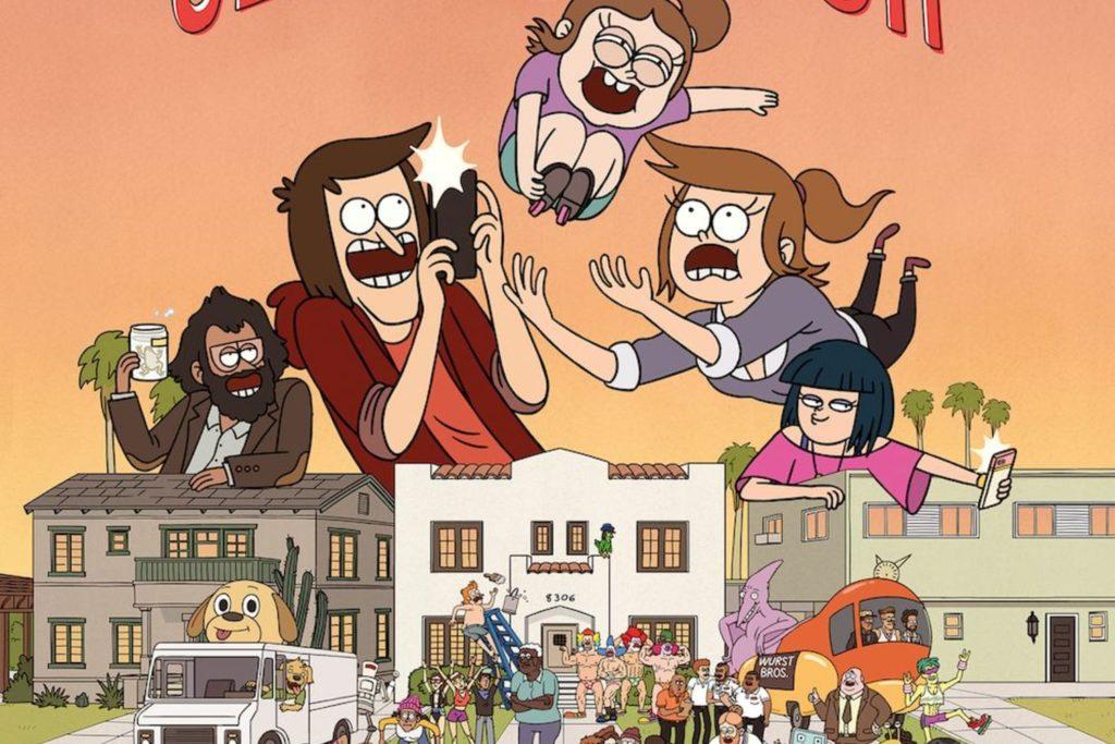 Close Enough tv show poster.