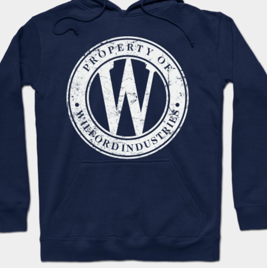 Wilford Industries hoodie from snowpiercer.