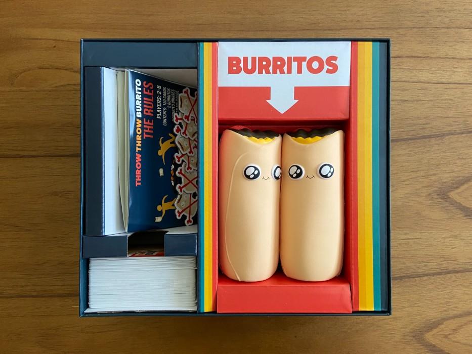 throw throw burrito package.