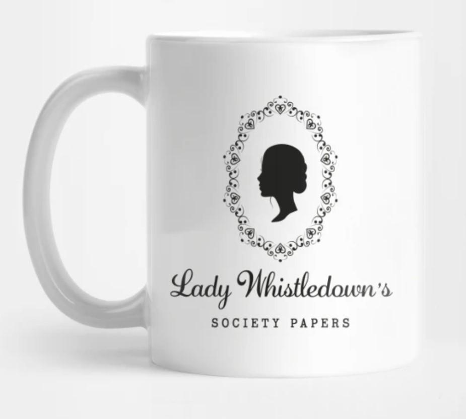 Bridgerton Mug: Lady Whistledown's Society Papers