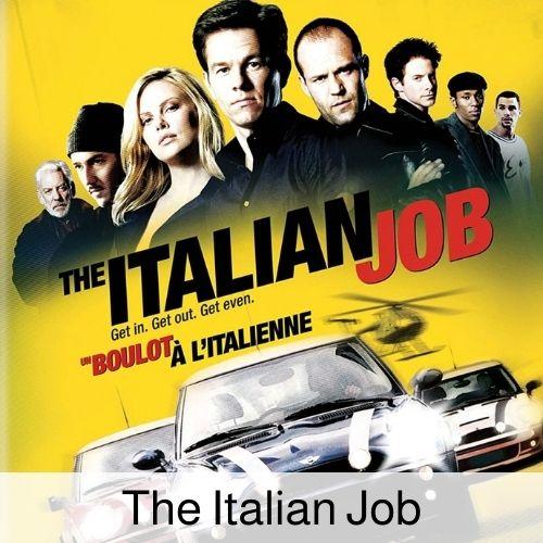 the italian job drinking game.